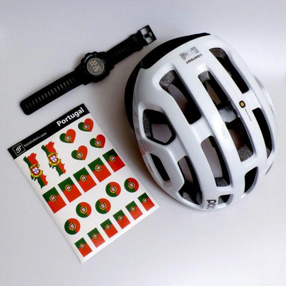 Bandeira de Portugal para ciclistas