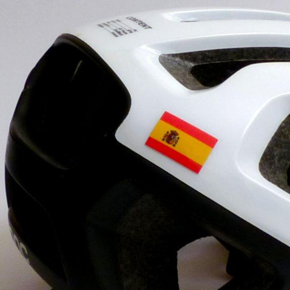 Bandera de españa para el ciclismo