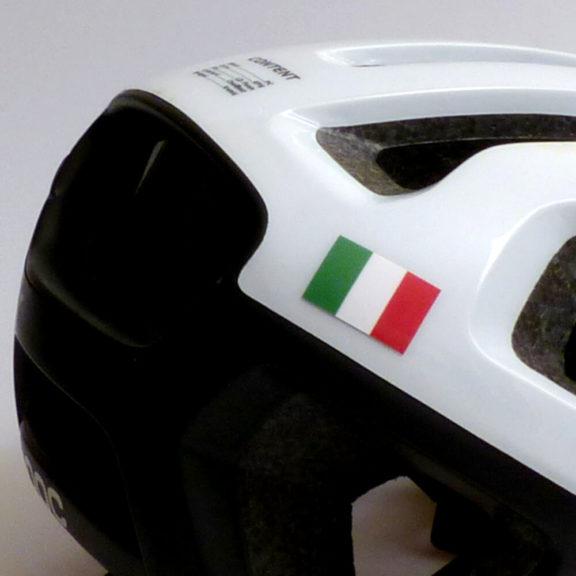 Bandiera dell'Italia per il ciclismo