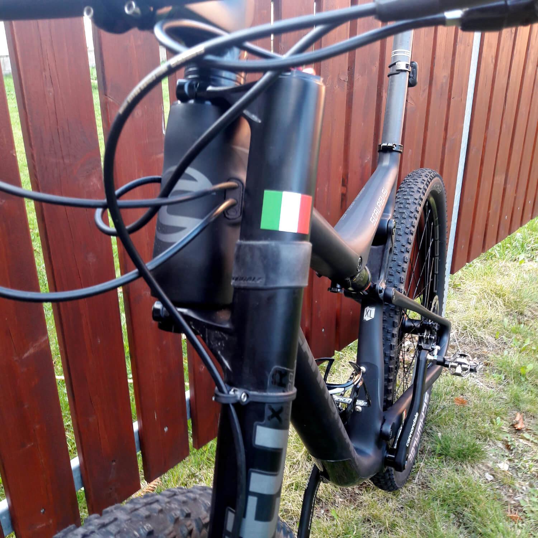 adesivi ciclismo con bandiera italiana