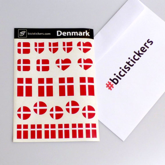 Danmark flag til cykel