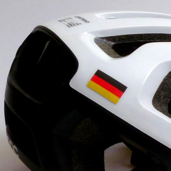 Deutsche Flagge für Helm