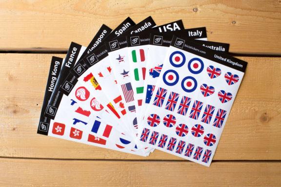 Flag Stickers UK