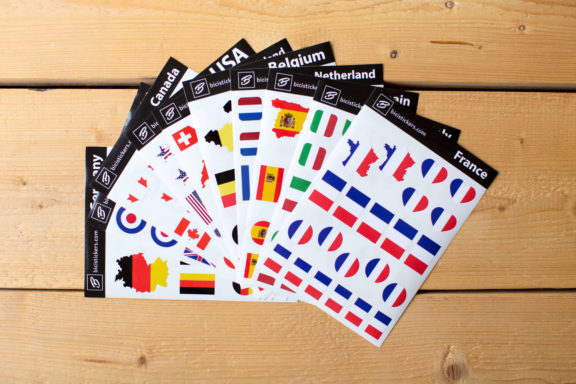Flag Stickers France