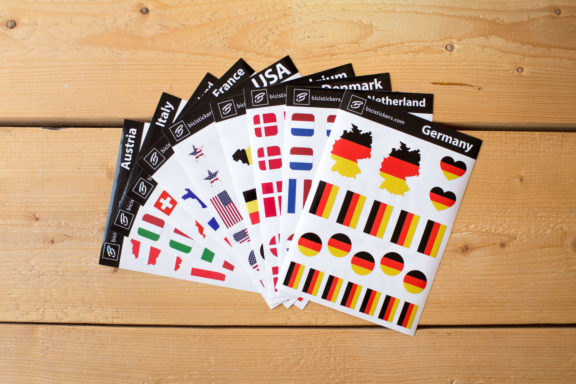 Flag Stickers Germany