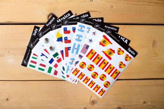 Flag Stickers Spain