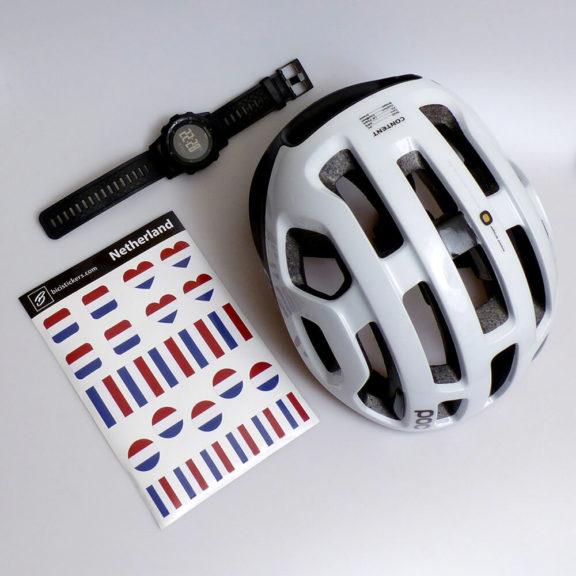 Nederlandse vlag fietsen
