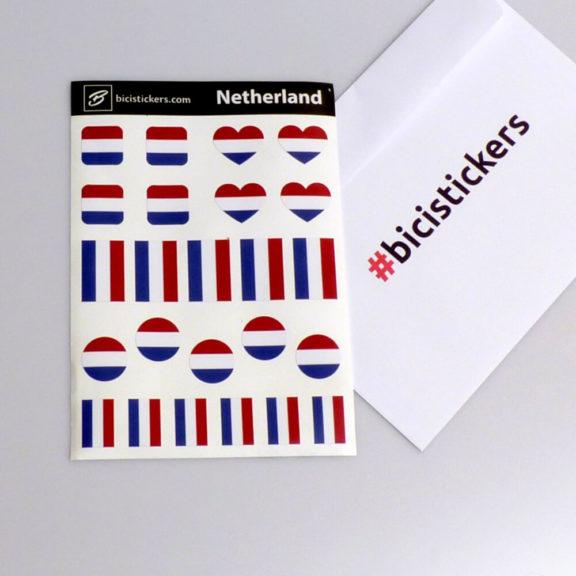 Nederlandse vlag om te fietsen