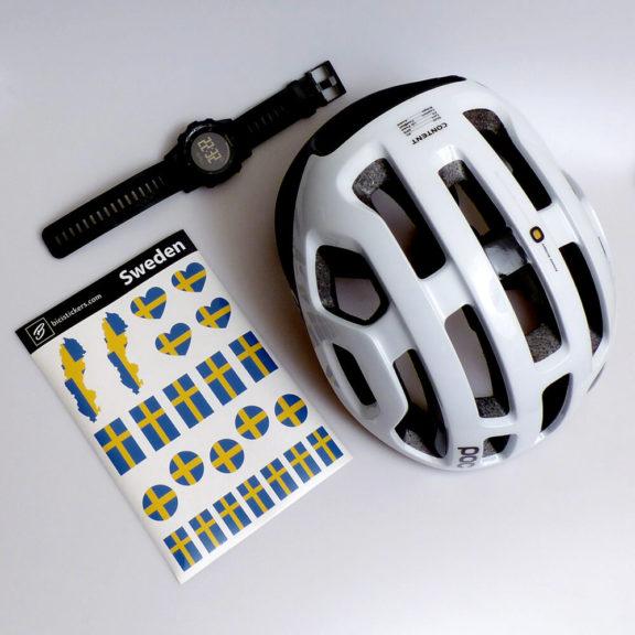 Sveriges flagga för cykling