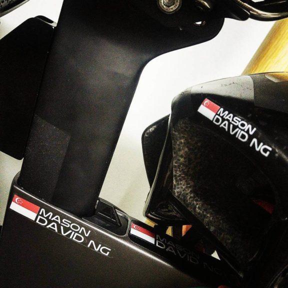 Adesivi bicicletta personalizzati