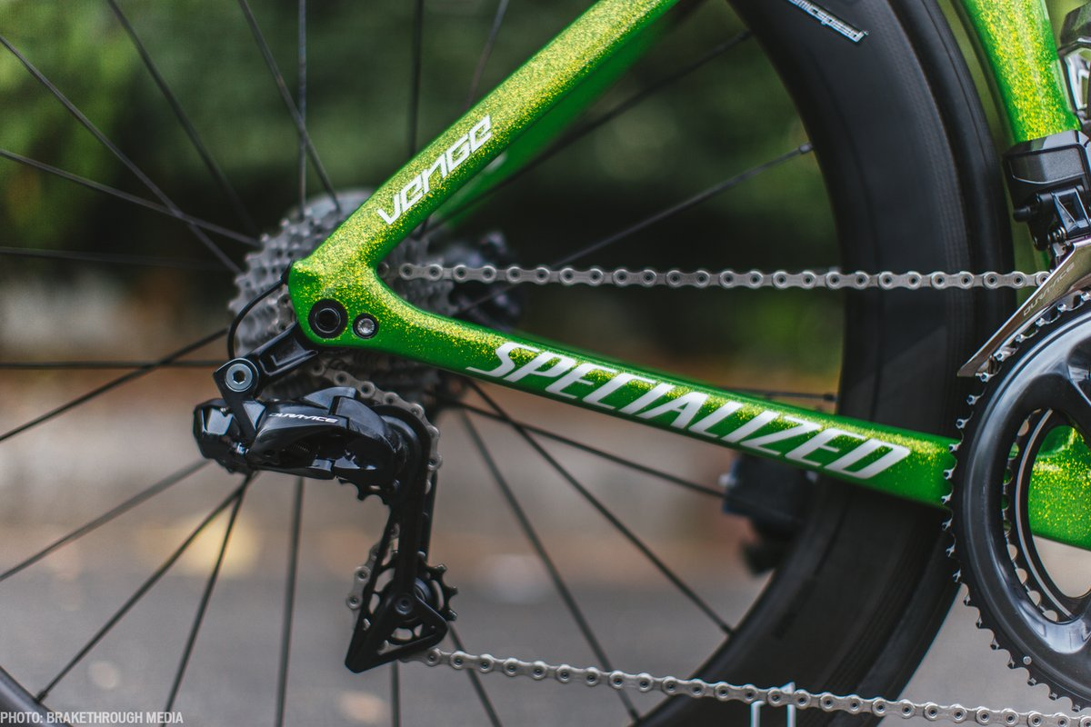 Peter Sagan Green Bike